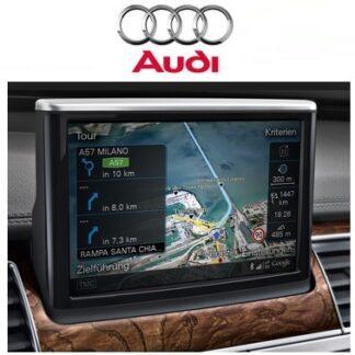 Audi Navi kaardid