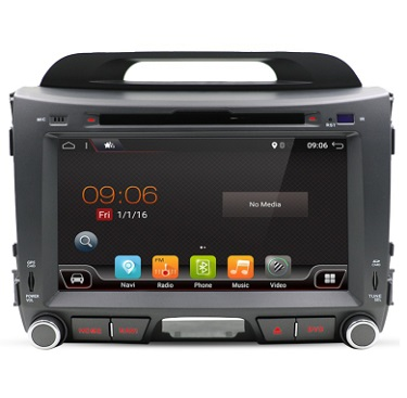 57f79bcc427 Kia Sportage Android 8.0 DVD Navi Raadio 8″ 1GB 16GB Quad – AutoNavi ...